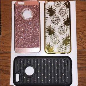 Accessories - 3 pack of iPhone 6/6s cases!